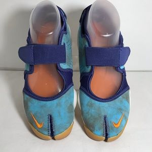 Nike Air Rift PRM QS SZ 7 Purple and Aqua Blue